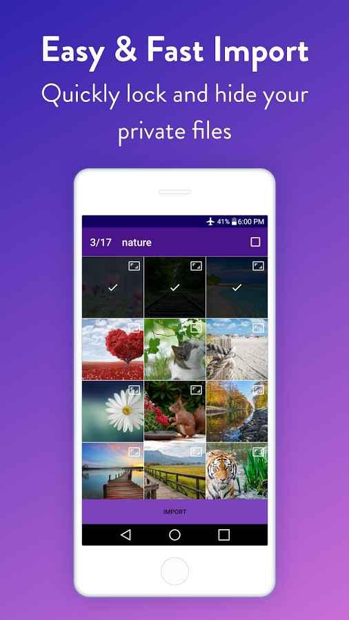 دانلود Vault : Hide Pictures, Videos, Gallery & Files Pro 2.73 - قفل و مخفی کردن فایل ها اندروید !