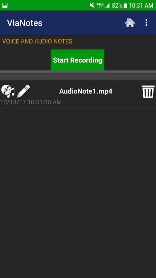 دانلود ViaNotes Pro - Notes and Audio Recorder 2.2 - برنامه یادداشت برداری صوتی اندروید !