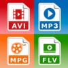 Video Converter MP3 AVI MPEG GIF FLV WMV MP4-Logo