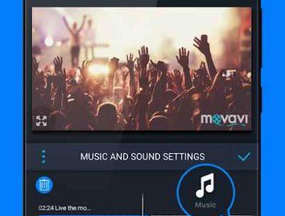 Video Editor Movavi Clips