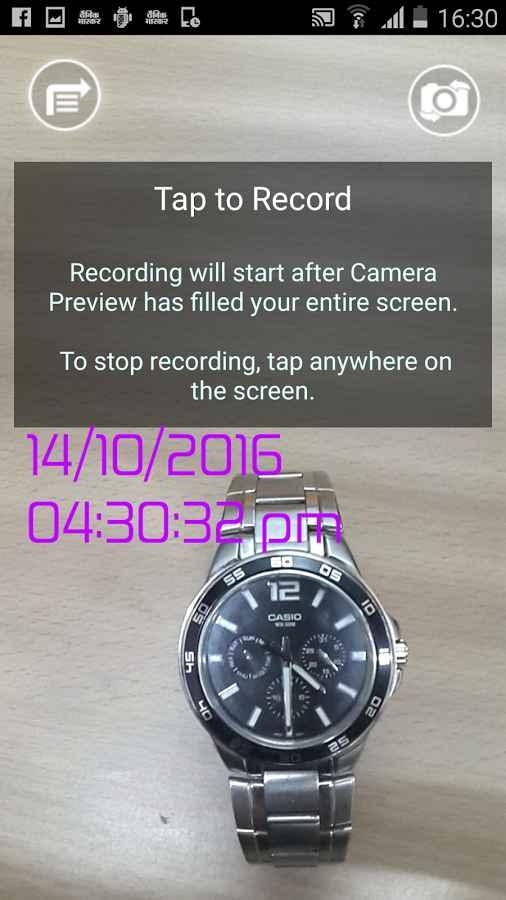 دانلود Video Timestamp 1.5 - برنامه ثبت زمان بر روی ویدئو اندروید !
