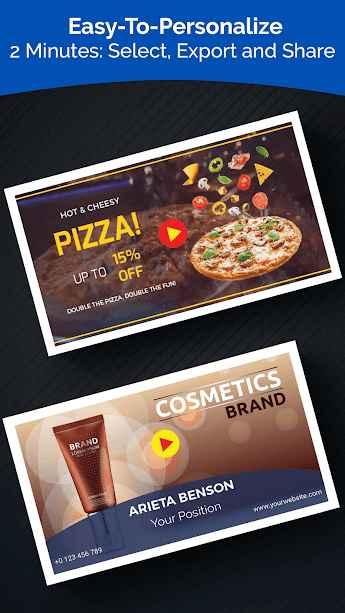 دانلود VideoAdKing: Digital Video Marketing Ad Maker Full 33.0 - برنامه ساخت ویدئو ها تبلیغاتی مخصوص اندروید !
