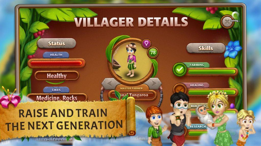 دانلود Virtual Villagers Origins 2 2.5.6 - بازی شبیه سازی زندگی روستایی 2 اندروید + مود + مگامود