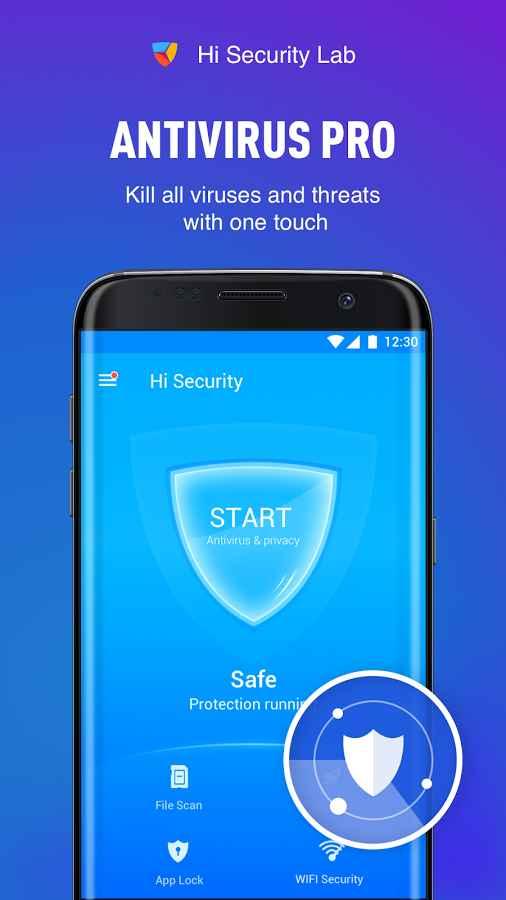 دانلود Virus Cleaner ( Hi Security ) - Antivirus, Booster VIP 4.19.16.1807 - آنتی ویروس و بهینه ساز