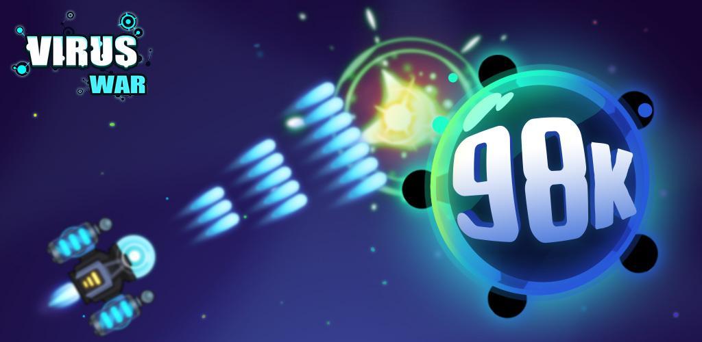 Virus War - Space Shooting Game - جنگ ویروسی