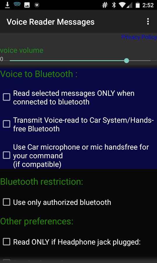 دانلود Voice Reader messages WhatsAp and more Pro 8.0.68 - برنامه خواندن صوتی متن پیام ها اندروید
