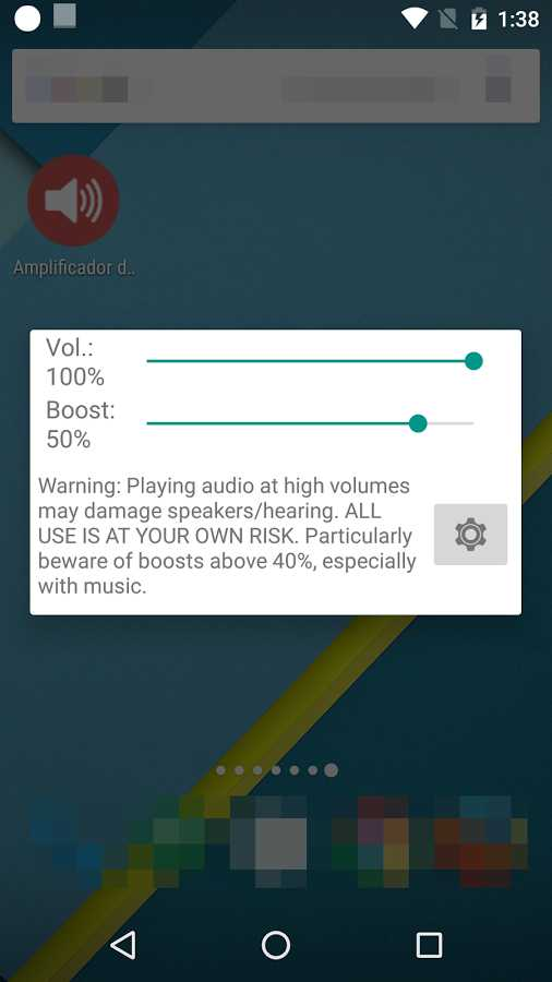 دانلود Volume Booster GOODEV 6.2 - تقویت صدای بلندگو و هدفون اندروید