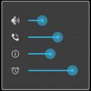 دانلود Volume Control Ex 1.7.5 - برنامه کنترل حرفه ای حجم صدا اندروید
