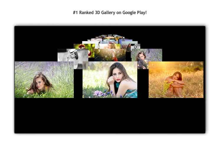 دانلود Vyomy Gallery Pro 2.0.8 - گالری سریع و سه بعدی مخصوص اندروید !