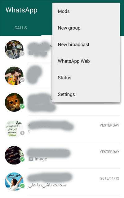 WAP : Best WhatsApp MOD 2.0 - بهترین واتس اپ مود اندروید !
