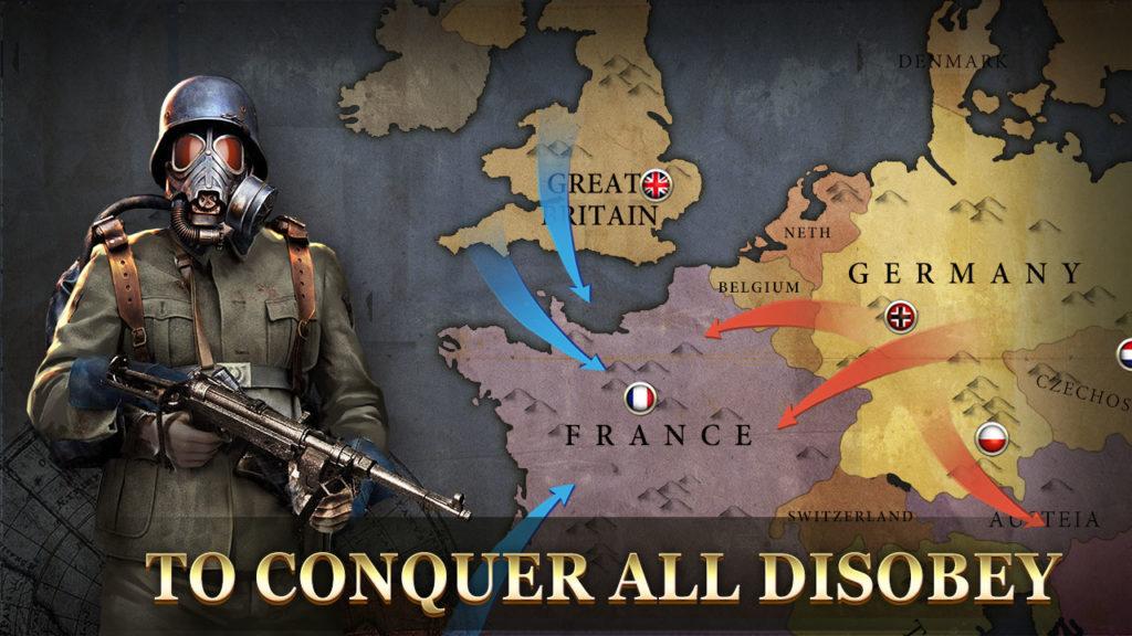 دانلود WW2: Strategy Commander Conquer Frontline 2.1.3 - بازی استراتژی پرطرفدار