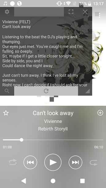 دانلود Walkman Lyrics Extension 5.4.1 - برنامه حرفه ای نمایش متن موزیک مخصوص اندروید