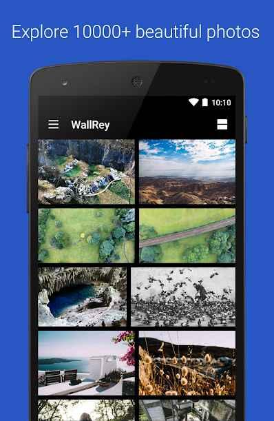 دانلود WallRey - Elegant HD wallpaper Pro 1.2.4 - مجموعه عظیم تصاویر زمینه با کیفیت اندروید !