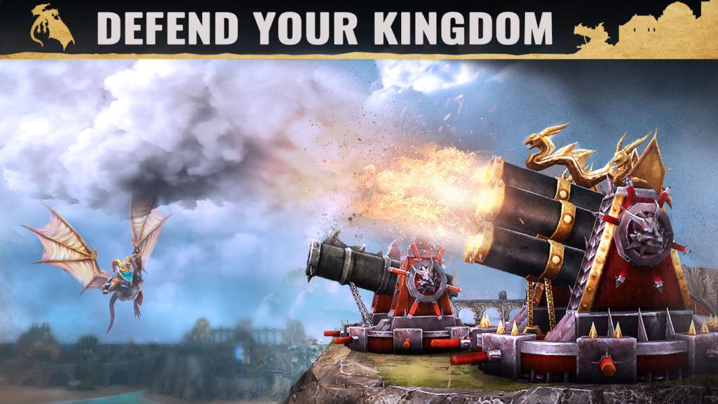 دانلود War Dragons 4.95.1+gn - بازی هیجان انگیز جنگ اژدرها اندروید !