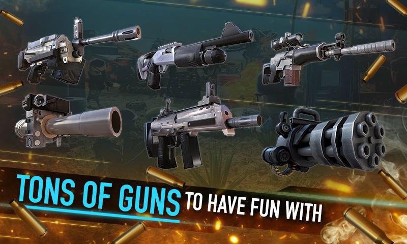 دانلود War Friends 2.4.0 - بازی اکشن تفنگی جنگ دوستان اندروید + مود + دیتا