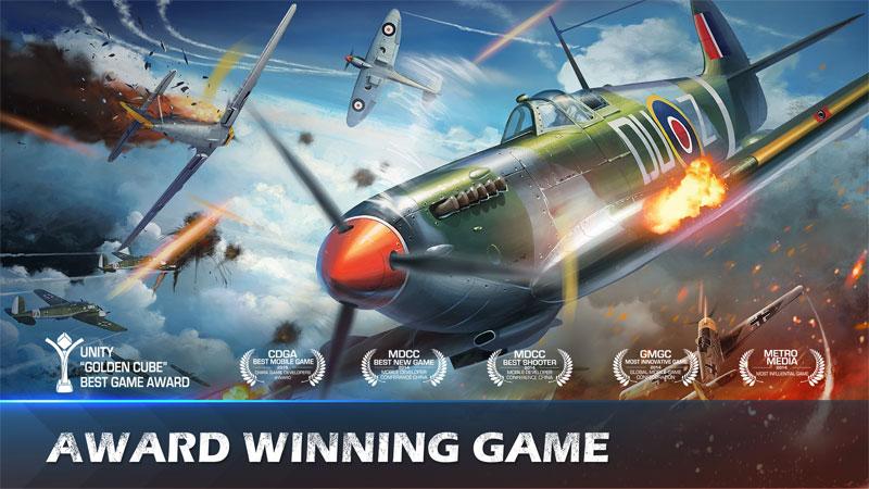 دانلود War Wings 5.6.63 - بازی اکشن عالی پرندگان پولادین اندروید + مود + دیتا
