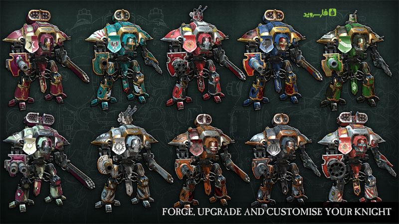 دانلود Warhammer 40,000: Freeblade 5.6.0 - بازی اکشن فوق العاده وار همر: فری بلید اندروید + مود + دیتا