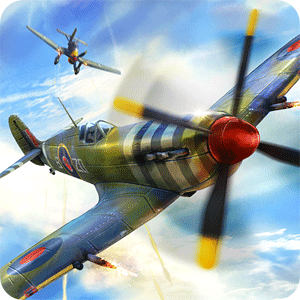 Warplanes: WW2 Dogfight 1.2 - بازی نبردهای هوایی اندروید + مود