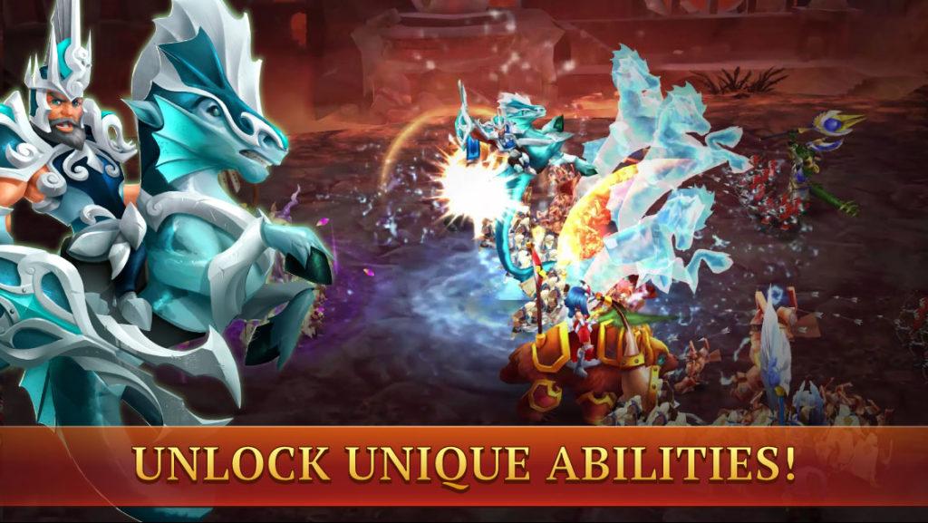 دانلود Wartide Heroes of Atlantis 1.11.8 - بازی نقش آفرینی
