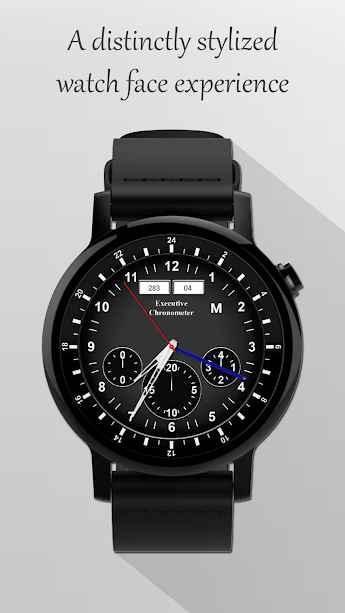 Watch Face: Courser Classic - Wear OS Smartwatch