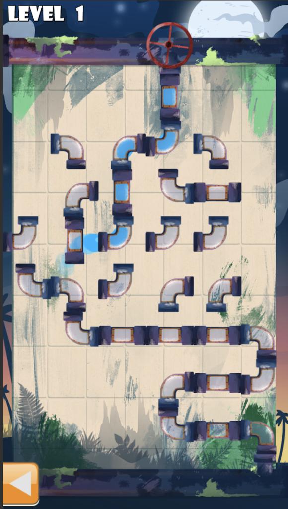 دانلود Water Pipes 3 1.0.1 - بازی پازل فوق العاده زیبا و کم حجم 0.99 دلاری