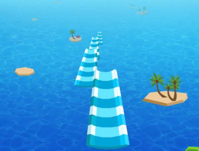 Water Race 3D Aqua Music Game