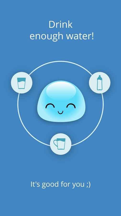 دانلود Water Time Gold 5.6.2 - برنامه یادآور و ردیاب نوشیدن آب اندروید