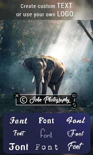 دانلود Watermark On Photo & Video Pro 1.3 - برنامه اندروید افزودن واترمارک به ویدئو و تصاویر !