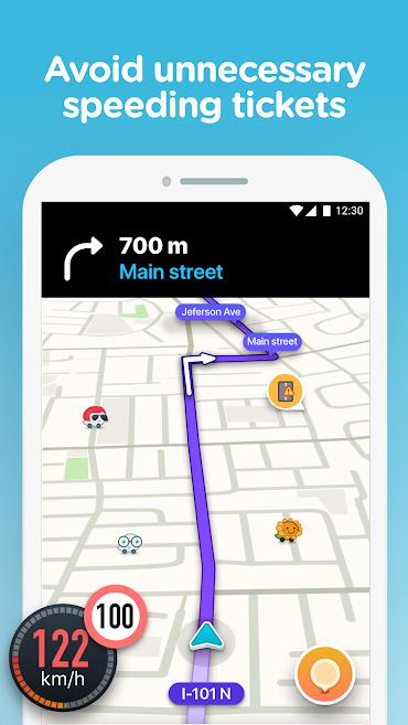 دانلود Waze - GPS, Maps & Traffic 4.56.90.901 - برنامه ترافیک و جهت یابی اندروید + بتا