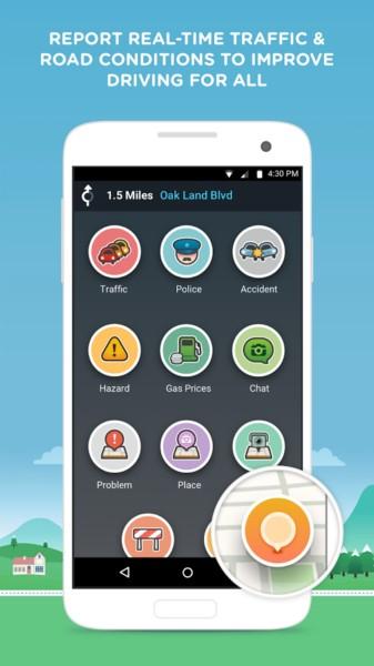 دانلود Waze - GPS, Maps & Traffic 4.45.0.0 - برنامه ترافیک و جهت یابی اندروید + بتا