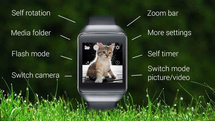 دانلود Wear Camera 4.0.3 - کنترل دوربین اندروید با ساعت هوشمند !