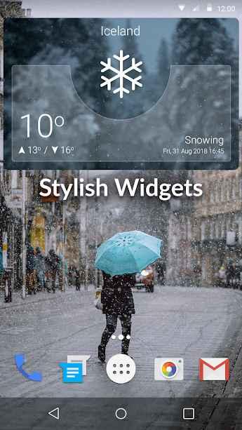 دانلود Weather App Pro 1.3 - برنامه هواشناسی دقیق و پر جزئیات اندروید