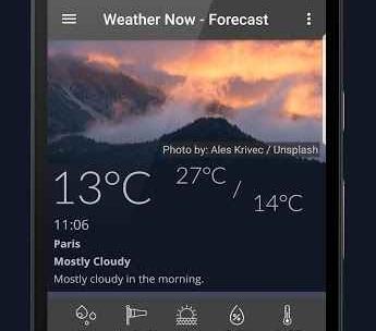 Weather Now - Forecast, Radar & Severe Alert