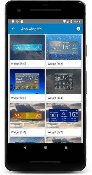 دانلود Weather Radar & Forecast VIP 1.5 - برنامه هواشناسی پیشرفته همراه رادار مخصوص اندروید
