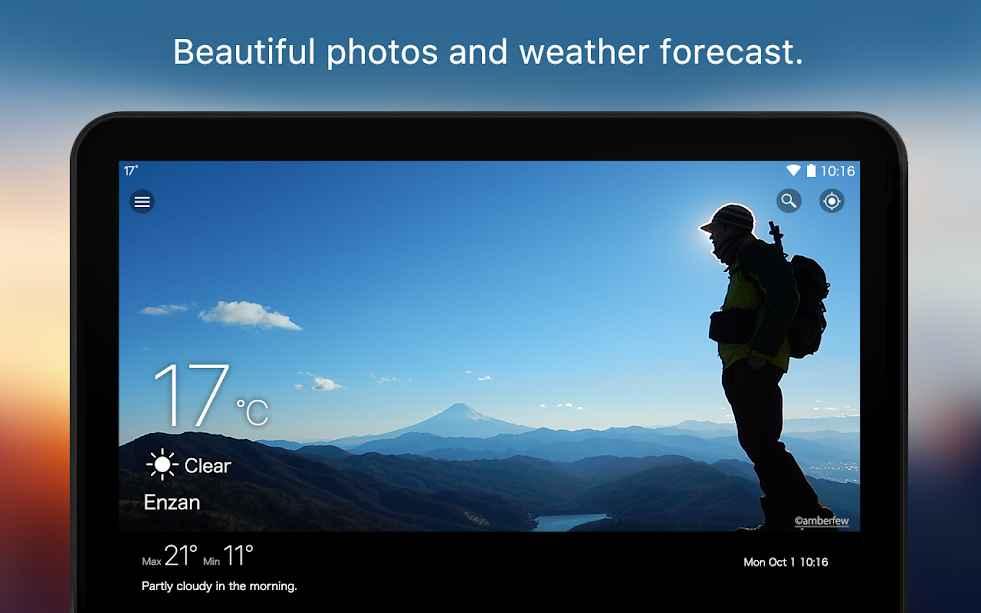 دانلود Weawow Weather & Widget 4.2.2 - هواشناس زیبا و دقیق اندروید