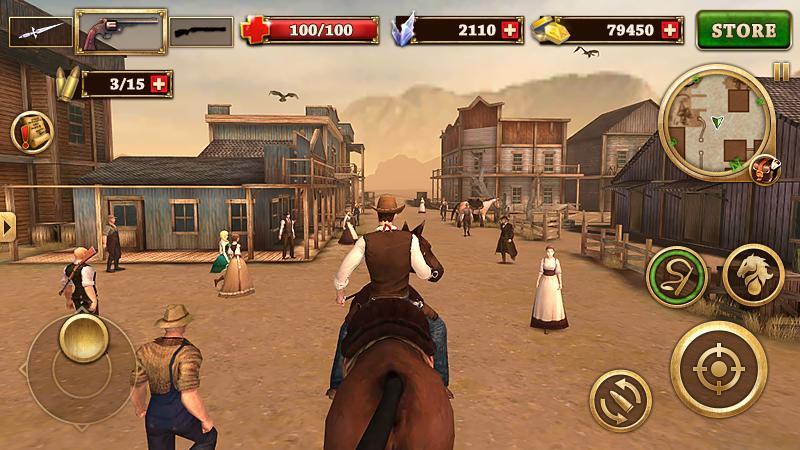 دانلود West Gunfighter 1.7 - بازی اکشن محبوب