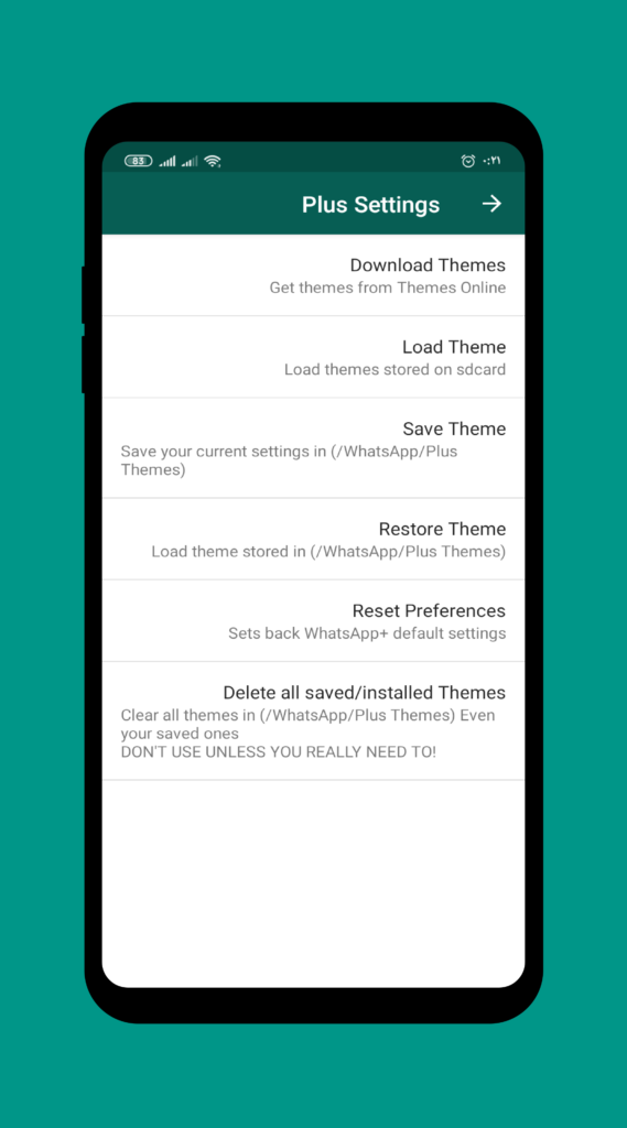 دانلود WhatsApp Plus 9.65 - مسنجر پرطرفدار واتس اپ پلاس اندروید !