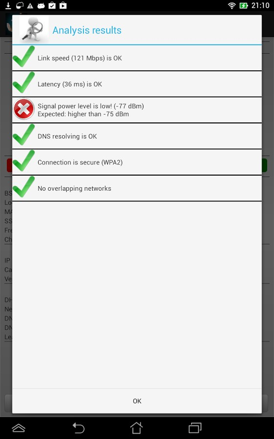 دانلود WiFi Analyzer Pro 2.2.3 - برنامه گرافیکی آنالیز وای فای اندروید !