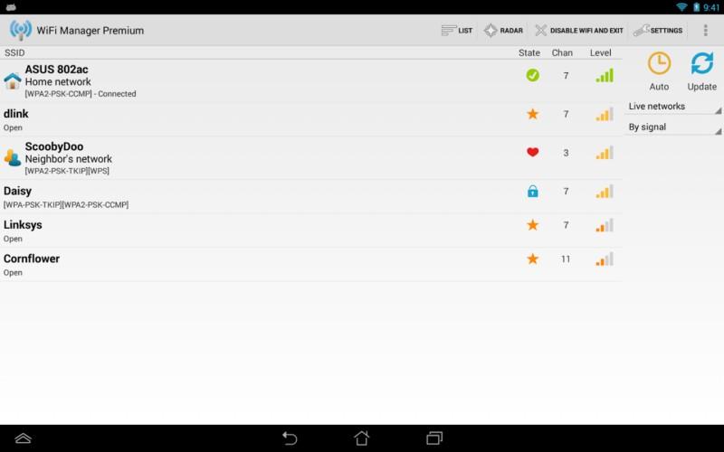 دانلود WiFi Manager Premium 4.3.0-228 - مجموعه ابزار مدیریت اتصال وای فای اندروید + مود