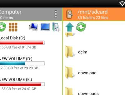 WiFi PC File Explorer Pro