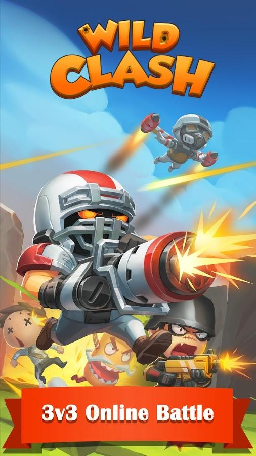 دانلود Wild Clash - Online Battle 1.8.3.8554 - بازی استراتژی آنلاین
