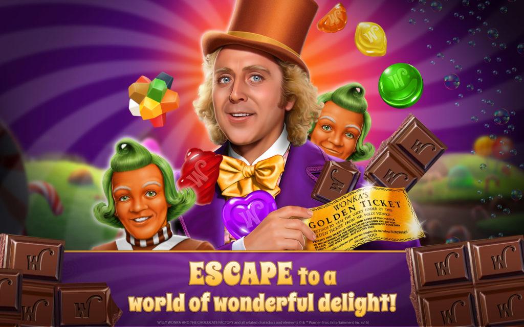 """دانلود Willy Wonka's Sweet Adventure 1.25.1875 - بازی پازل و تطبیق ساز """"ماجراجویی ویلی وونکا"""" اندروید + مود"""