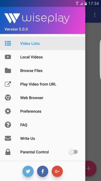 دانلود Wiseplay Premium 6.5.8 - پلیر هوشمند و همه جانبه اندروید