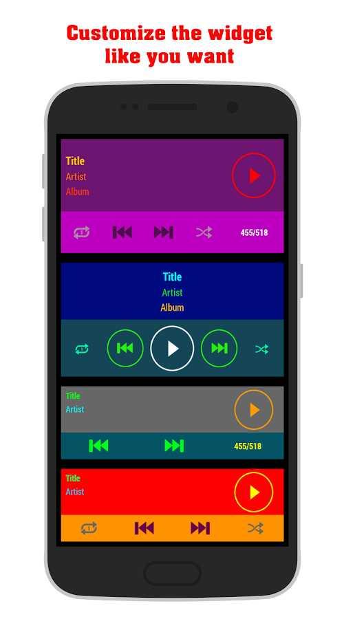 دانلود Wittex Music-Player 3.5 - پلیر صوتی ساده و شخصی اندروید !