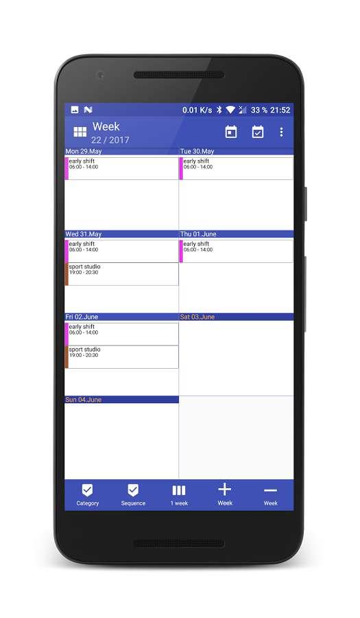 دانلود Work Calendar 5.2.6 - برنامه کاربردی و عالی