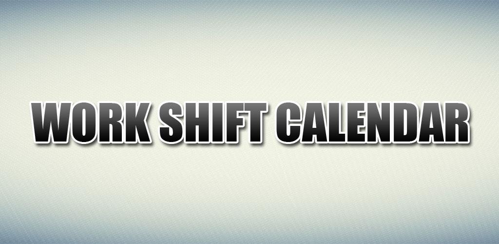 Work Shift Calendar Pro