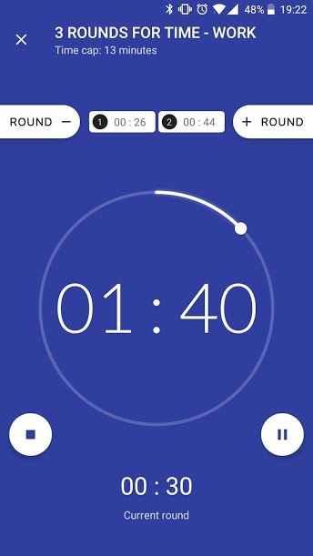 دانلود Workout timer : Crossfit WODs & TABATA Full 3.2.4 b58 - تایمر ورزشی خاص و کاربردی اندروید !