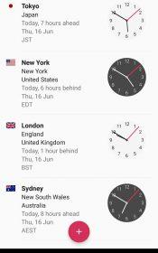 World Clock by timeanddate.com Full