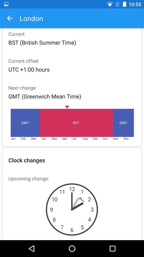 دانلود World Clock by timeanddate.com Full 2.2.6 - ساعت جهانی اندروید !