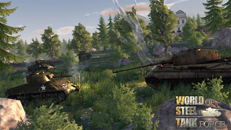 دانلود World Of Steel : Tank Force 1.0.7 - بازی قدرت تانک ها اندروید + مود